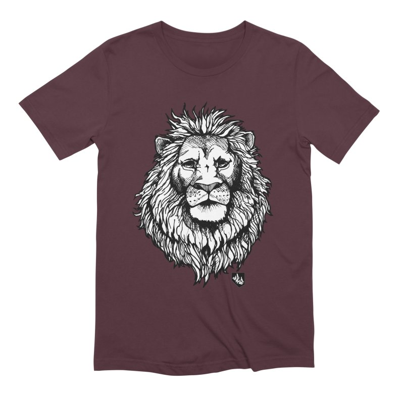 Noble Lion Men's Extra Soft T-Shirt by Red Rust Rum - Shop
