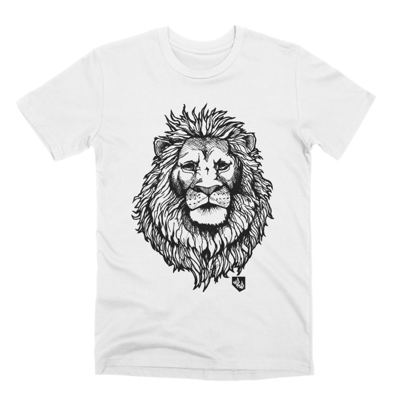 Noble Lion Men's Premium T-Shirt by Red Rust Rum - Shop