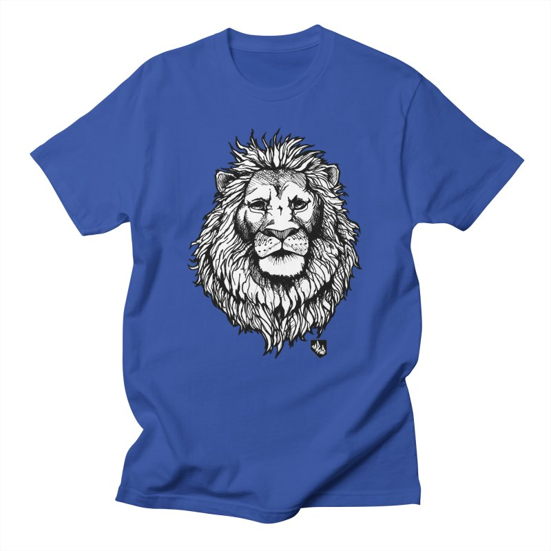 Noble Lion Men's Regular T-Shirt by Red Rust Rum - Shop