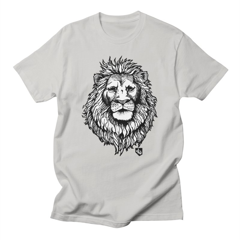Noble Lion in Men's Regular T-Shirt Stone by Red Rust Rum - Shop