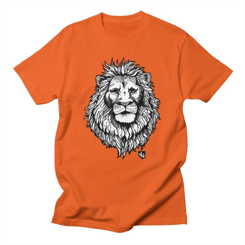 Noble Lion Men's Regular T-Shirt by Red Rust Rum - Shop