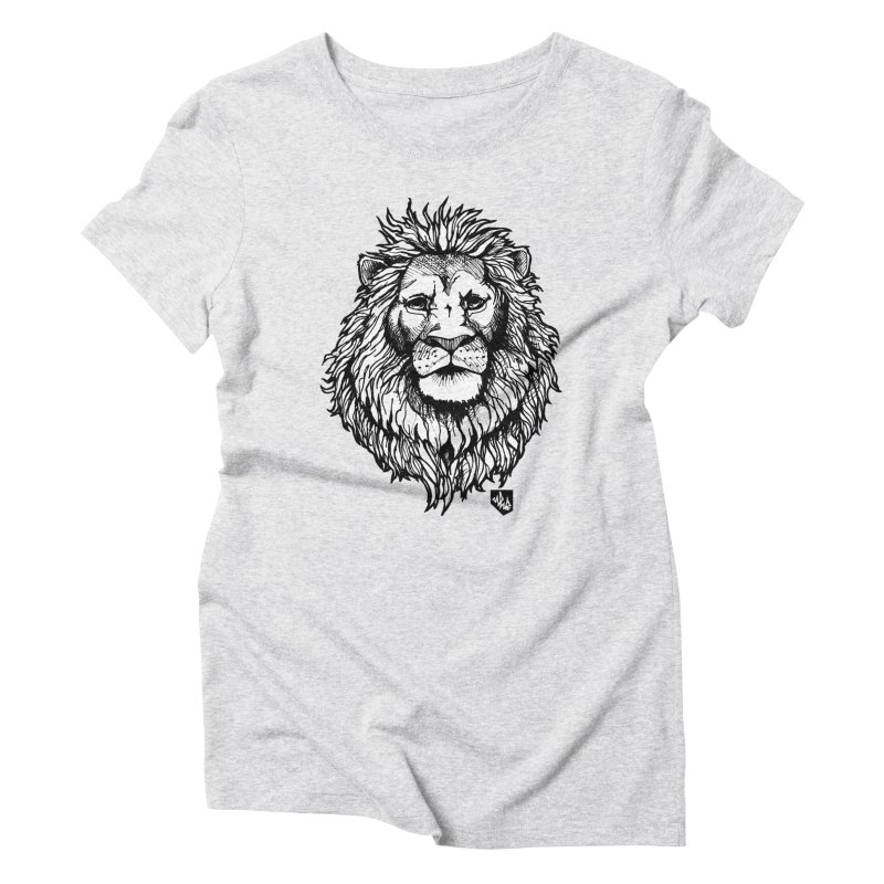 Noble Lion Women's T-Shirt by Red Rust Rum - Shop