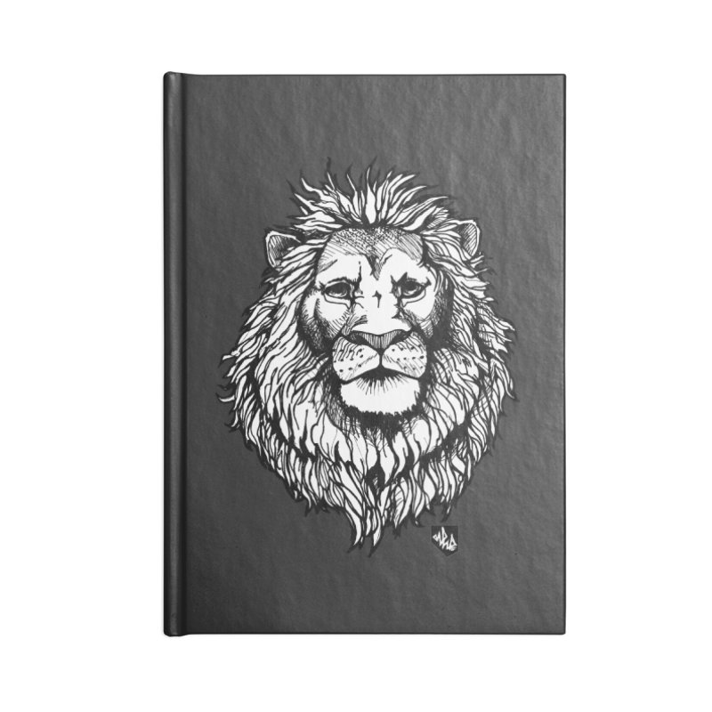 Noble Lion Accessories Lined Journal Notebook by Red Rust Rum - Shop