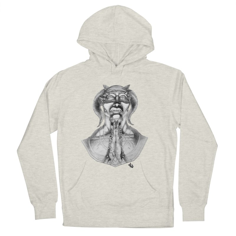 Prayer Women's French Terry Pullover Hoody by Red Rust Rum - Shop