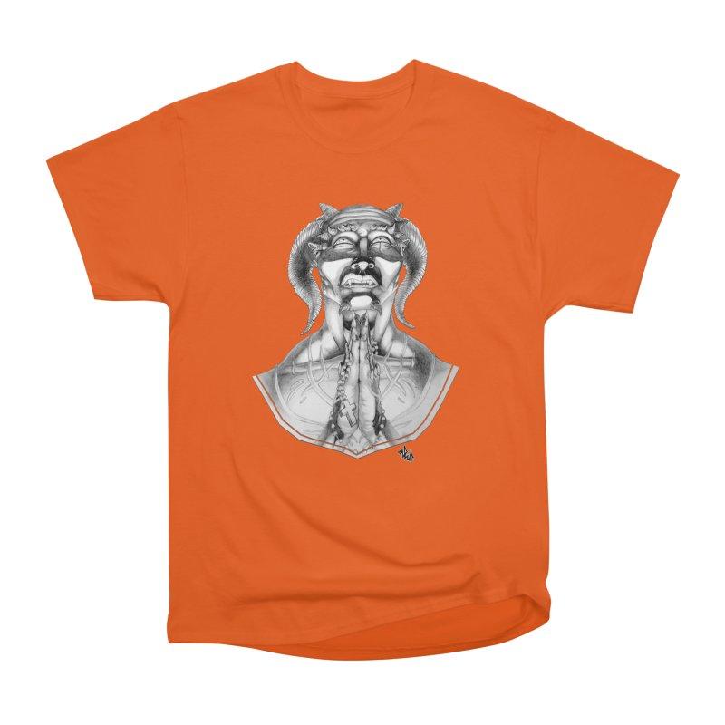 Prayer Men's Heavyweight T-Shirt by Red Rust Rum - Shop