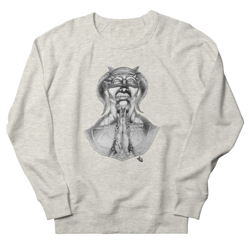 Prayer Men's French Terry Sweatshirt by Red Rust Rum - Shop