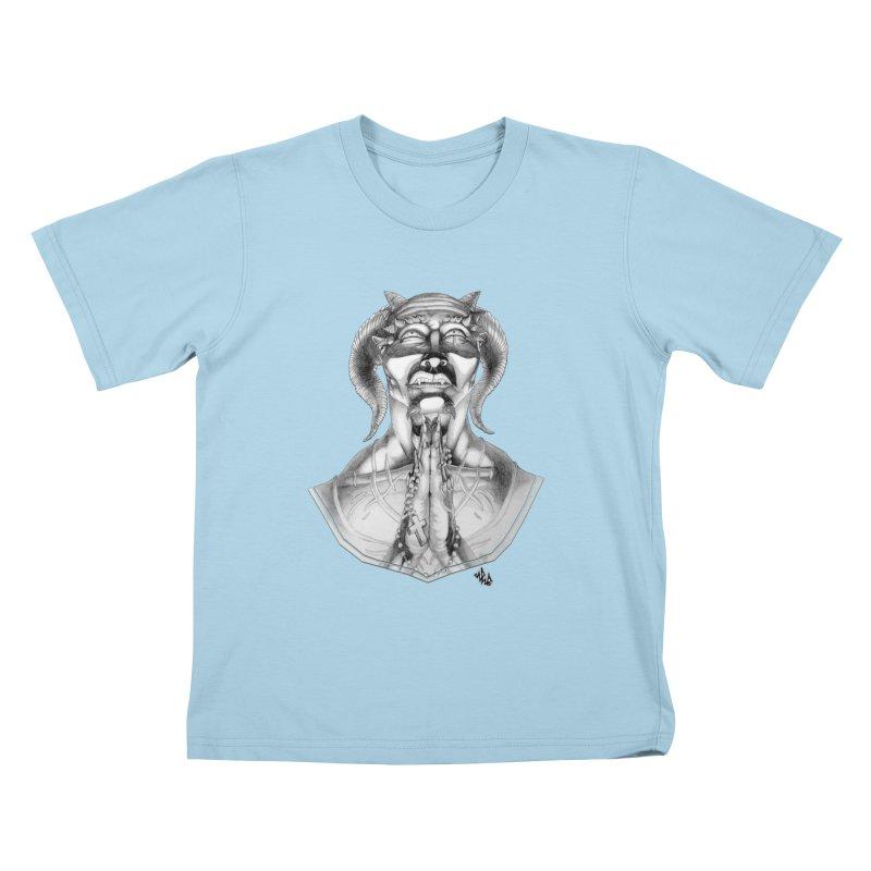 Prayer Kids T-shirt by Red Rust Rum - Shop