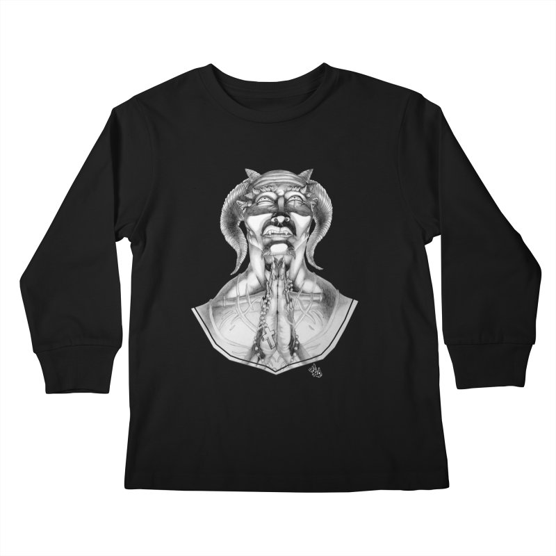 Prayer Kids Longsleeve T-Shirt by Red Rust Rum - Shop