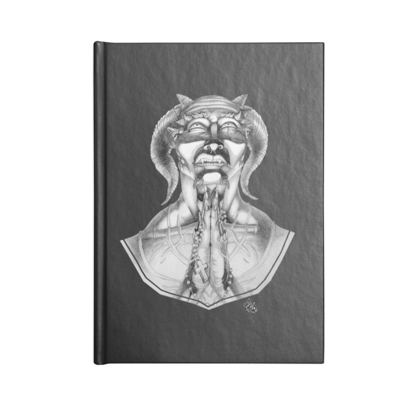 Prayer Accessories Blank Journal Notebook by Red Rust Rum - Shop