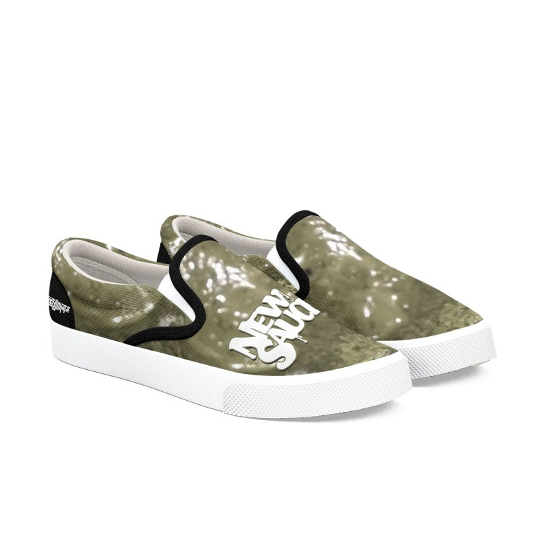 New Sauce Album Art in Men's Slip-On Shoes by Red Rust Rum - Shop