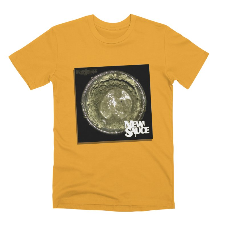 New Sauce Album Art Men's Premium T-Shirt by Red Rust Rum - Shop