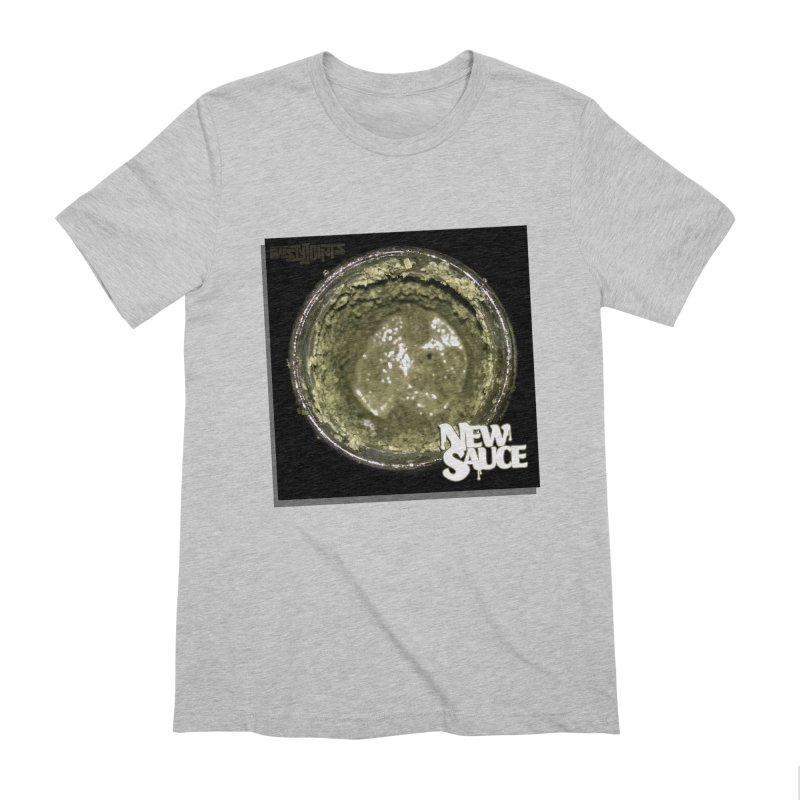 New Sauce Album Art Men's Extra Soft T-Shirt by Red Rust Rum - Shop