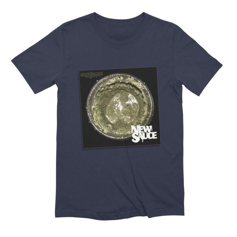 New Sauce Album Art Men's Extra Soft T-Shirt by Red Rust Rum - Shop