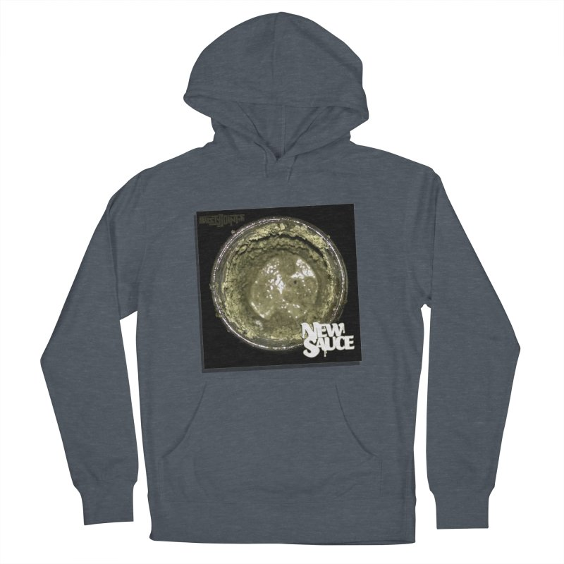 New Sauce Album Art Men's French Terry Pullover Hoody by Red Rust Rum - Shop