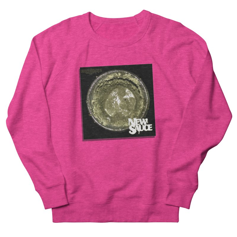 New Sauce Album Art Men's French Terry Sweatshirt by Red Rust Rum - Shop