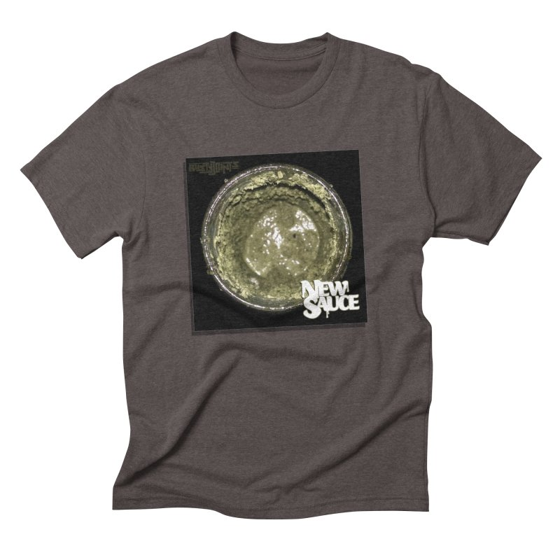 New Sauce Album Art Men's Triblend T-Shirt by Red Rust Rum - Shop