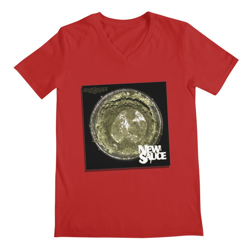 New Sauce Album Art Men's V-Neck by Red Rust Rum - Shop