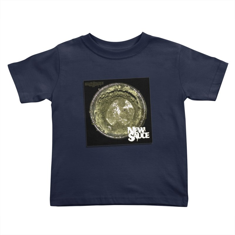 New Sauce Album Art Kids Toddler T-Shirt by Red Rust Rum - Shop