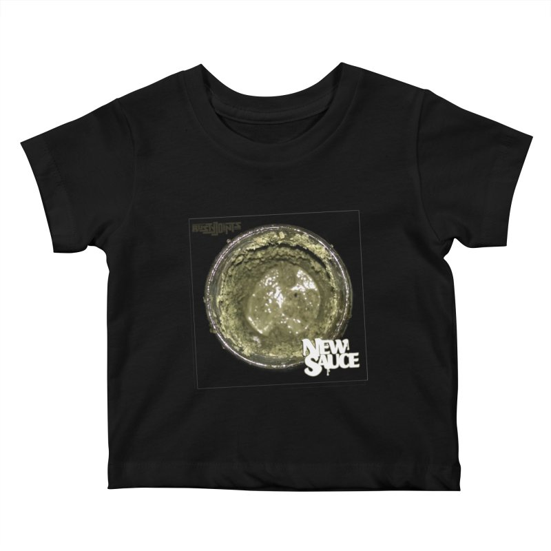 New Sauce Album Art Kids Baby T-Shirt by Red Rust Rum - Shop