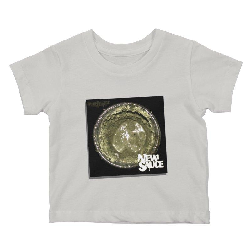 New Sauce Album Art Kids Baby T-Shirt by Red Rust Rum - Shop