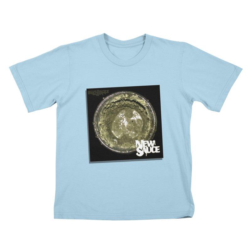 New Sauce Album Art Kids T-Shirt by Red Rust Rum - Shop