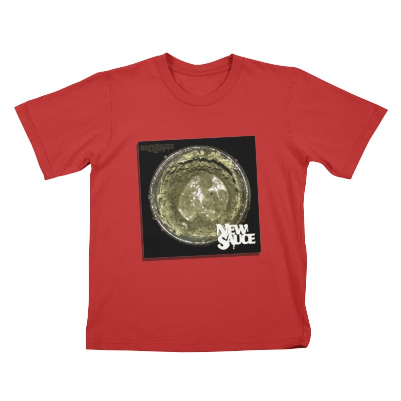 New Sauce Album Art Kids T-Shirt by Red Rust Rum - Shop