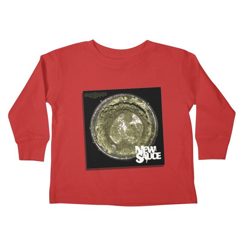 New Sauce Album Art Kids Toddler Longsleeve T-Shirt by Red Rust Rum - Shop