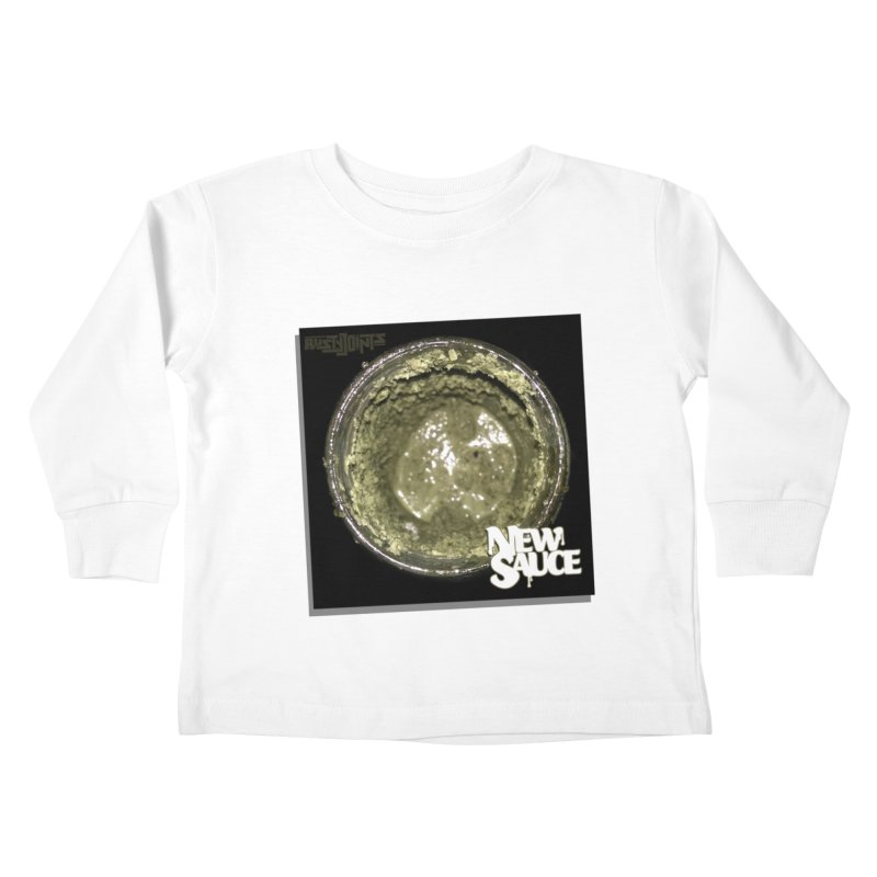 New Sauce Album Art Kids Toddler Longsleeve T-Shirt by Red Rust Rum - Shop