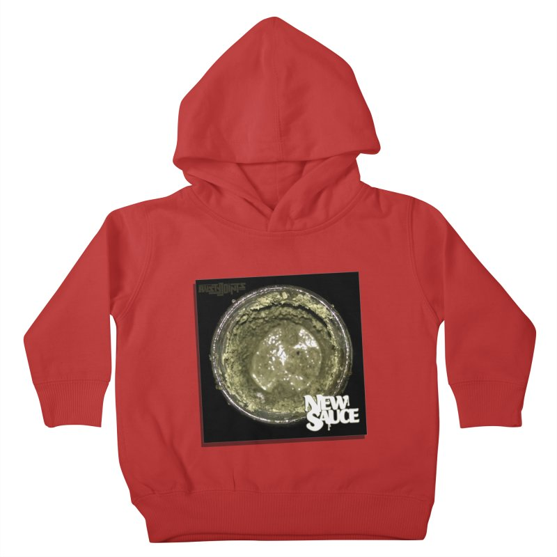 New Sauce Album Art Kids Toddler Pullover Hoody by Red Rust Rum - Shop
