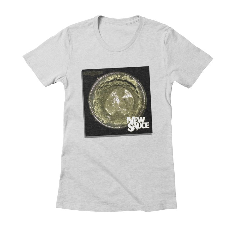 New Sauce Album Art Women's Fitted T-Shirt by Red Rust Rum - Shop