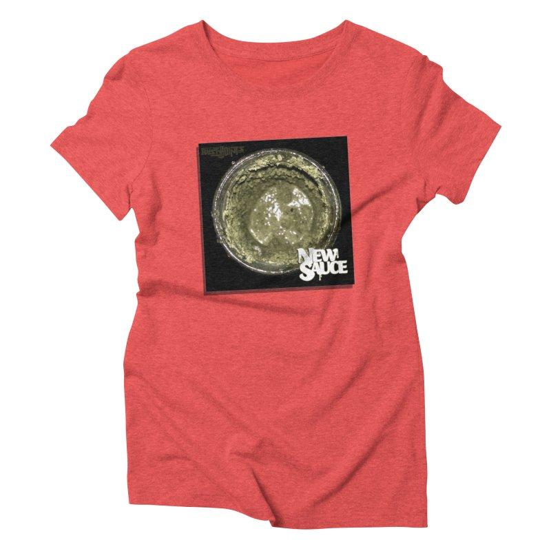 New Sauce Album Art Women's Triblend T-Shirt by Red Rust Rum - Shop
