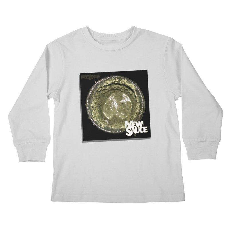 New Sauce Album Art Kids Longsleeve T-Shirt by Red Rust Rum - Shop
