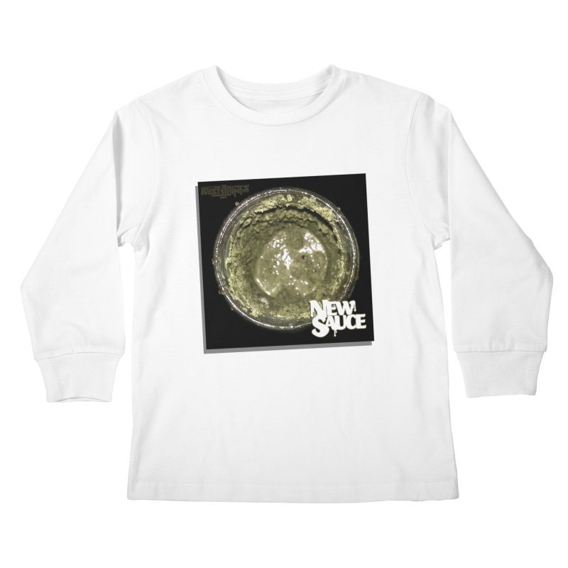 New Sauce Album Art Kids Longsleeve T-Shirt by Red Rust Rum - Shop