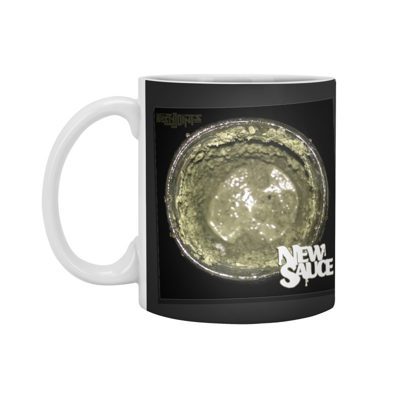 New Sauce Album Art Accessories Mug by Red Rust Rum - Shop