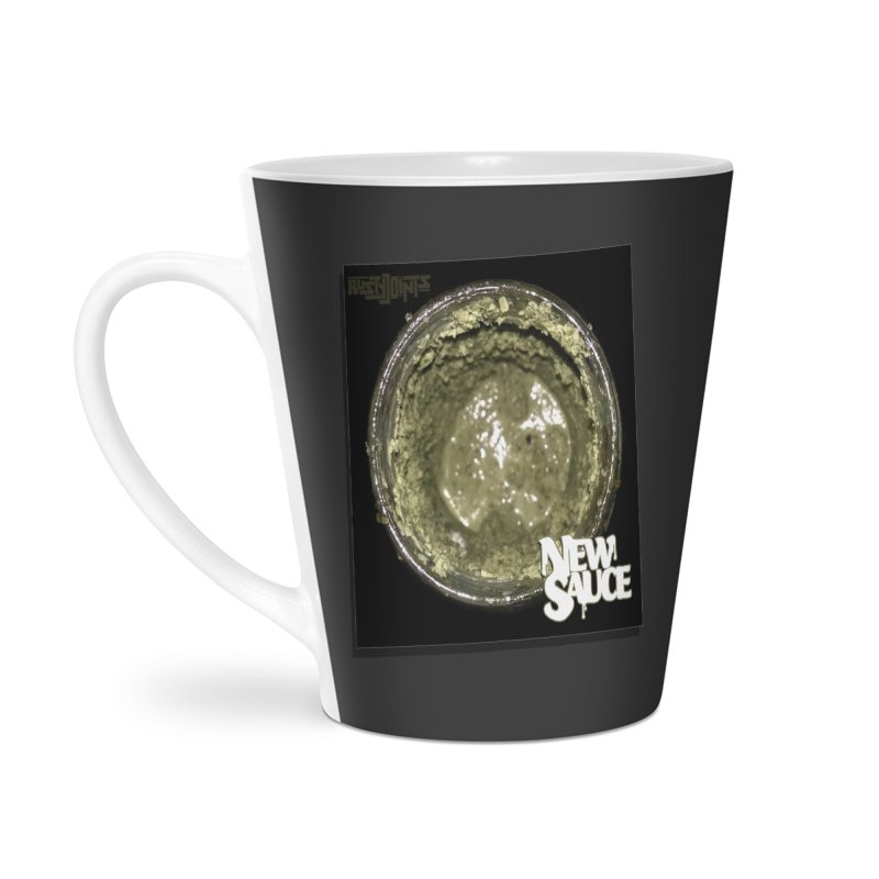 New Sauce Album Art Accessories Latte Mug by Red Rust Rum - Shop