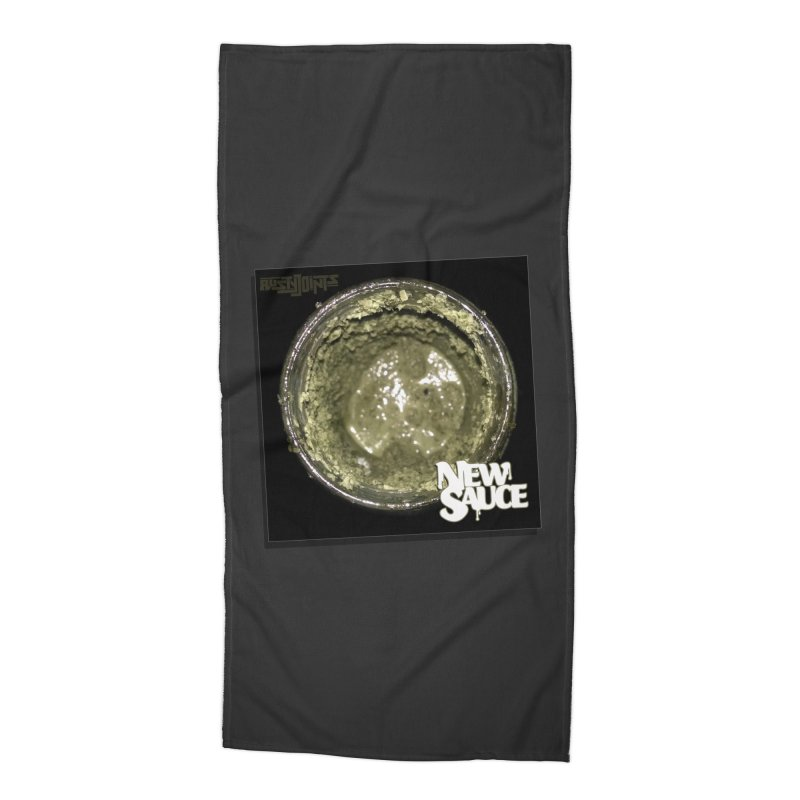 New Sauce Album Art Accessories Beach Towel by Red Rust Rum - Shop