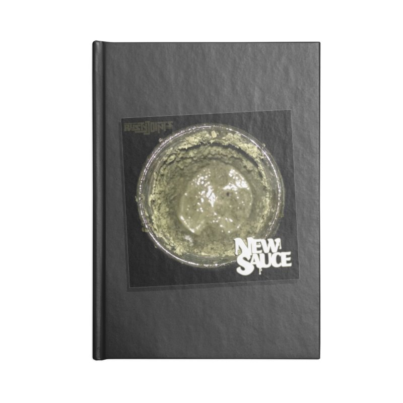 New Sauce Album Art Accessories Lined Journal Notebook by Red Rust Rum - Shop