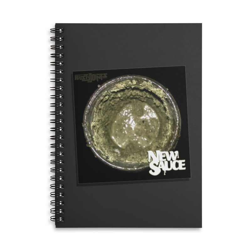 New Sauce Album Art Accessories Lined Spiral Notebook by Red Rust Rum - Shop