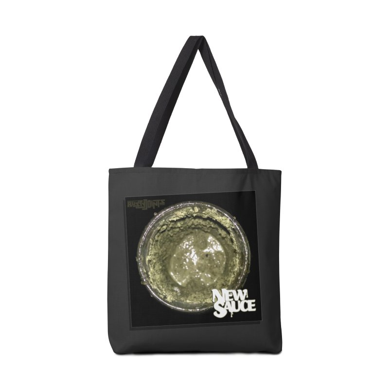 New Sauce Album Art Accessories Tote Bag Bag by Red Rust Rum - Shop