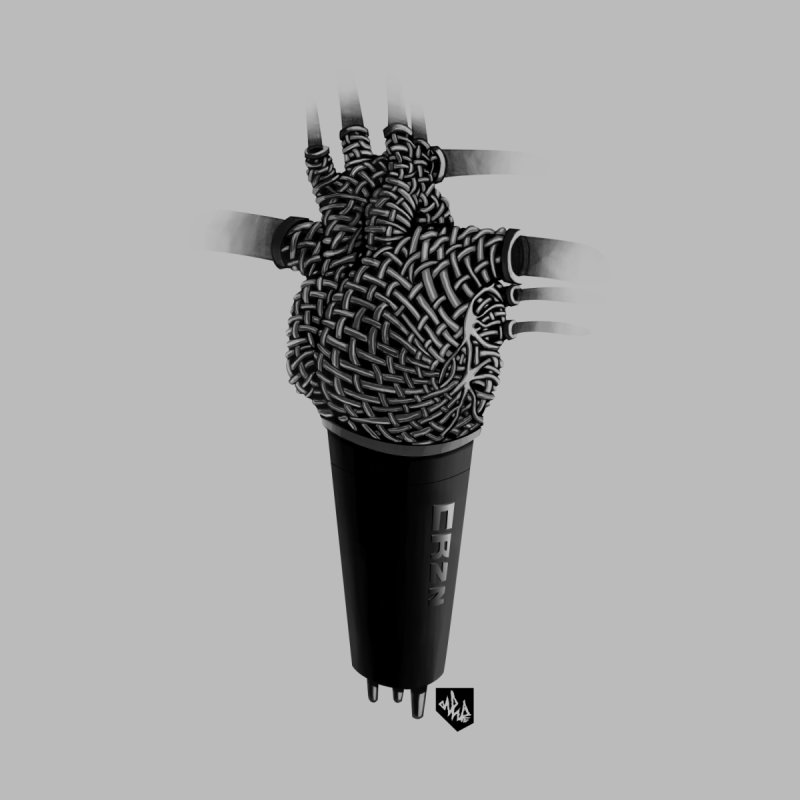 CRZN Dynamic Microphone (Heart Mic) by Red Rust Rum - Shop