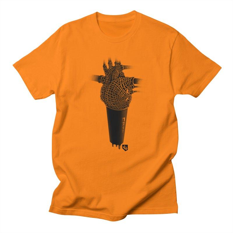 CRZN Dynamic Microphone (Heart Mic) Men's T-Shirt by Red Rust Rum - Shop