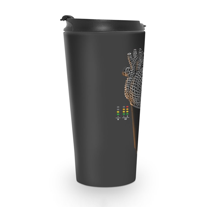 CRZN Dynamic Microphone (Heart Mic) [Color] Accessories Travel Mug by Red Rust Rum - Shop