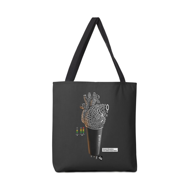 CRZN Dynamic Microphone (Heart Mic) [Color] Accessories Tote Bag Bag by Red Rust Rum - Shop