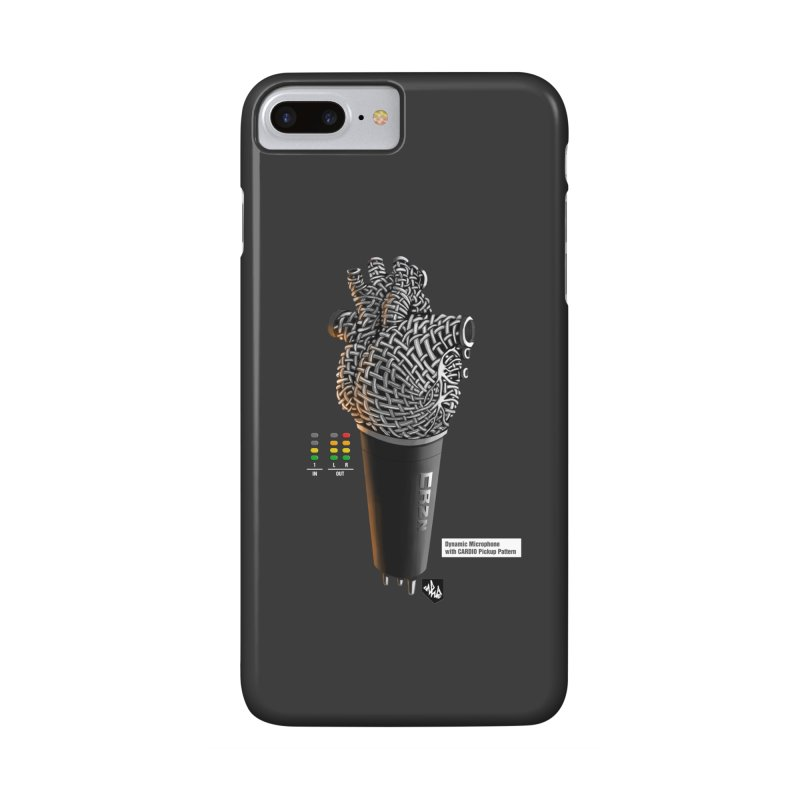 CRZN Dynamic Microphone (Heart Mic) [Color] Accessories Phone Case by Red Rust Rum - Shop
