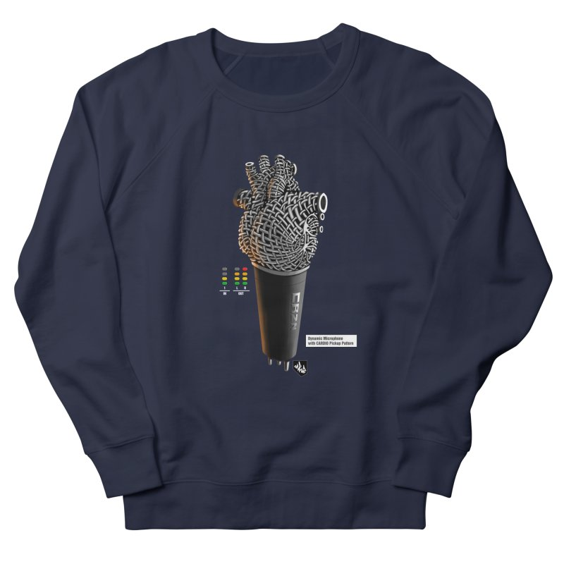 CRZN Dynamic Microphone (Heart Mic) [Color] Men's Sweatshirt by Red Rust Rum - Shop