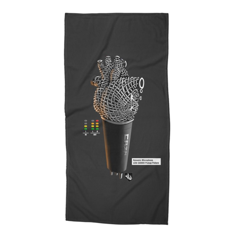 CRZN Dynamic Microphone (Heart Mic) [Color] Accessories Beach Towel by Red Rust Rum - Shop