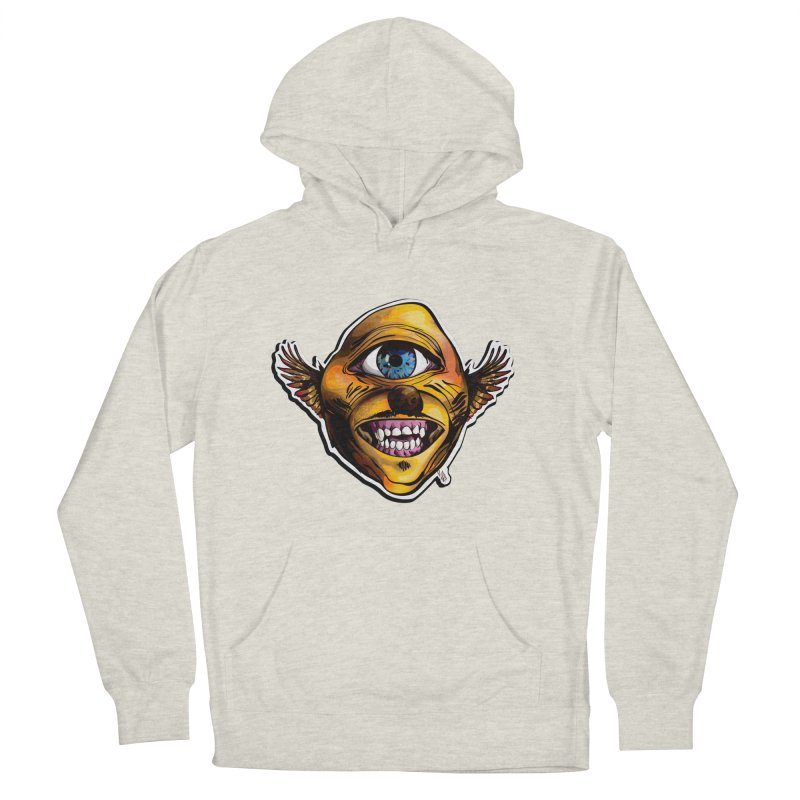 Cycloptic Dog Eagle with a Stache Men's Pullover Hoody by Red Rust Rum - Shop