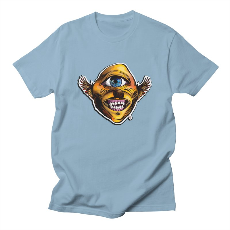 Cycloptic Dog Eagle with a Stache Men's Regular T-Shirt by Red Rust Rum - Shop