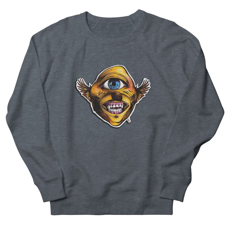 Cycloptic Dog Eagle with a Stache Women's Sweatshirt by Red Rust Rum - Shop