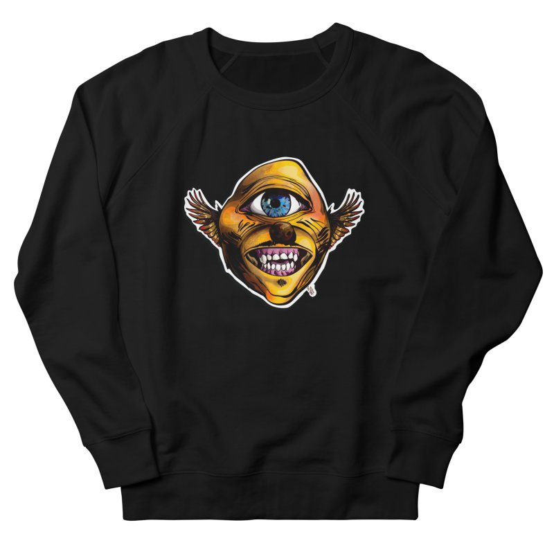 Cycloptic Dog Eagle with a Stache Women's French Terry Sweatshirt by Red Rust Rum - Shop
